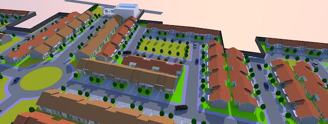 membuat master plan bangunan