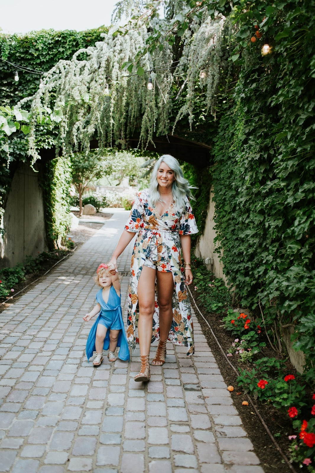 Blue Hair, Mommy and Toddler, Utah Fashion Blogger