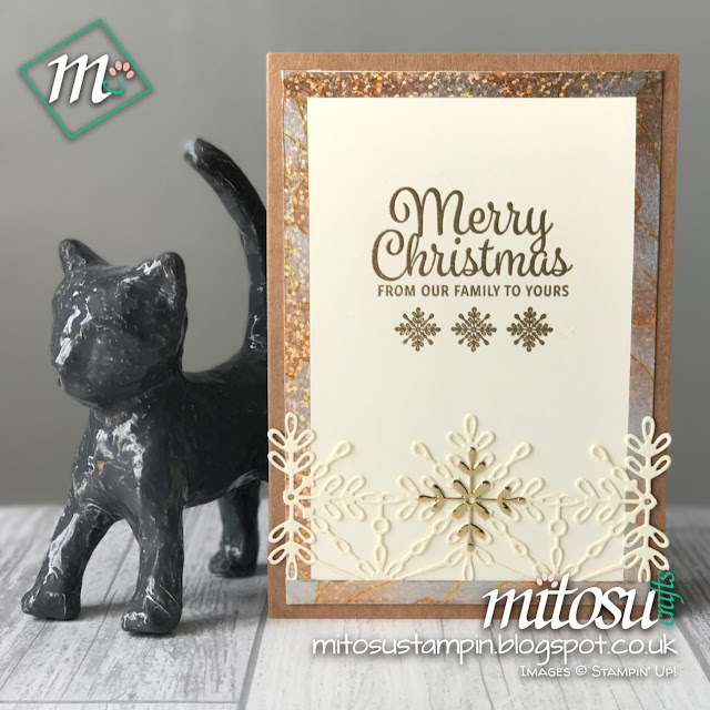 Stampin' Up! Snowflakes Sentiments & Swirly Snowflakes Bundle from Mitosu Crafts UK Online Shop