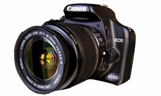 Harga Kamera dan Spesifikasi DSLR Canon EOS 450D Baru 2015
