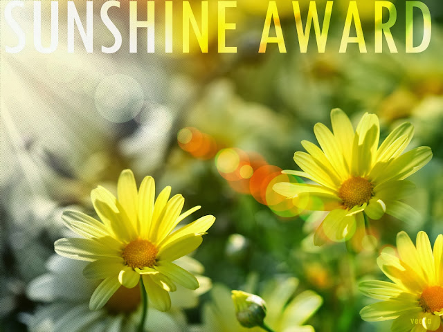 BLOG, SUNSHINE AWARD