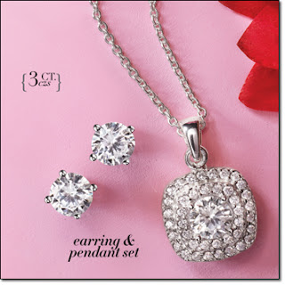 Signature Brilliance CZ Elegance Necklace and Earring Gift Set