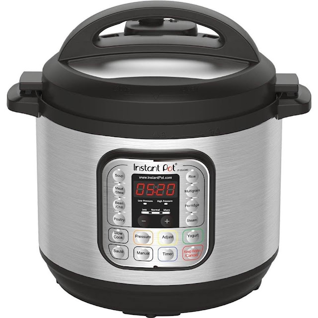 Amazon Prime: Instant Pot DUO80 7-in-1 Pressure Cooker for only $90 (reg $130)!