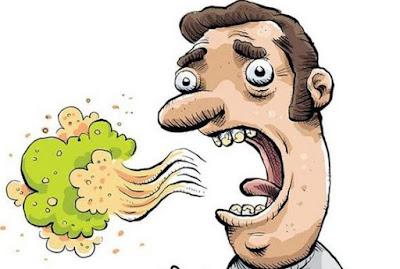 Hasil carian imej untuk bau mulut