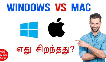 Windows Vs Mac Tamil Tutorials