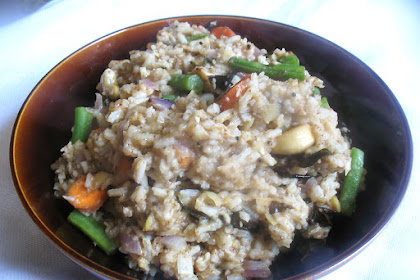Bisi Bele Bhath (Rice with Lentils and Spices)