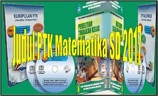 Judul PTK Matematika SD 2017