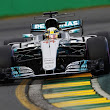 Lewis Hamilton ahead of Sebastian Vettel in Australia qualifying