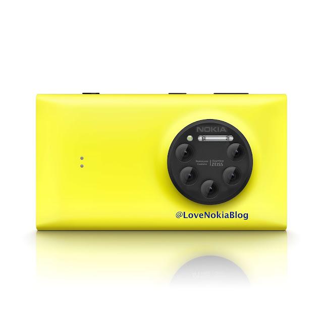 Nokia Penta Lens Camera smartphone concept