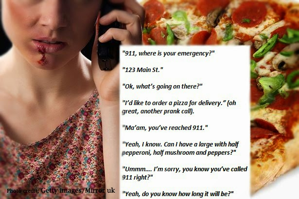 Girl Ask for 911 Help Through 'Ordering Pizza' Coded Conversation