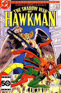 cover of the Shadow War of Hawkman #3 (1985). Property of DC comics.