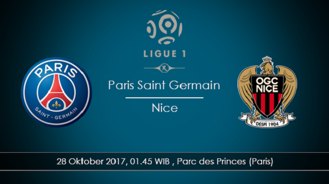 live streaming psg vs nice 28 oktober 2017