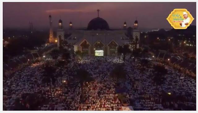 Jutaan Muslim Hadiri Dzikir dan Shalawat Untuk Negeri, Habib Rizieq Syihab Kemukakan Bukti Ini
