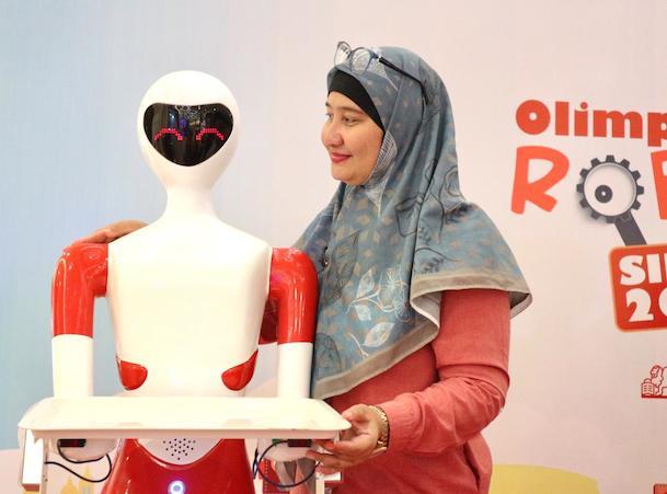 Beauty-robot-Tiongkok