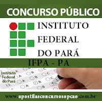 edital Concurso IF Pará 2016