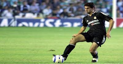 14 años del debut de  Álvaro Arbeloa