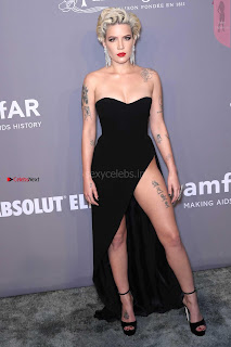 OMG  Halsey  What beautiful  thighs amazing ~ Celebs.in Exclusive