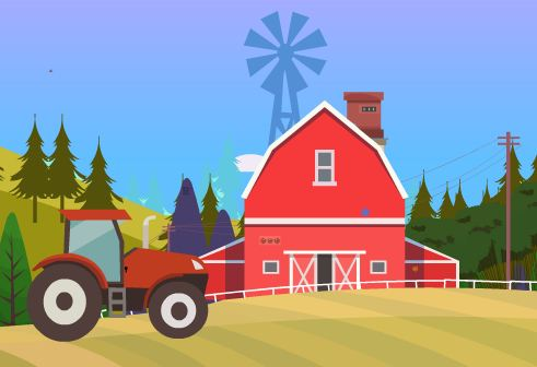 EscapeGamesZone Escape From Village Tractor Walkthrough