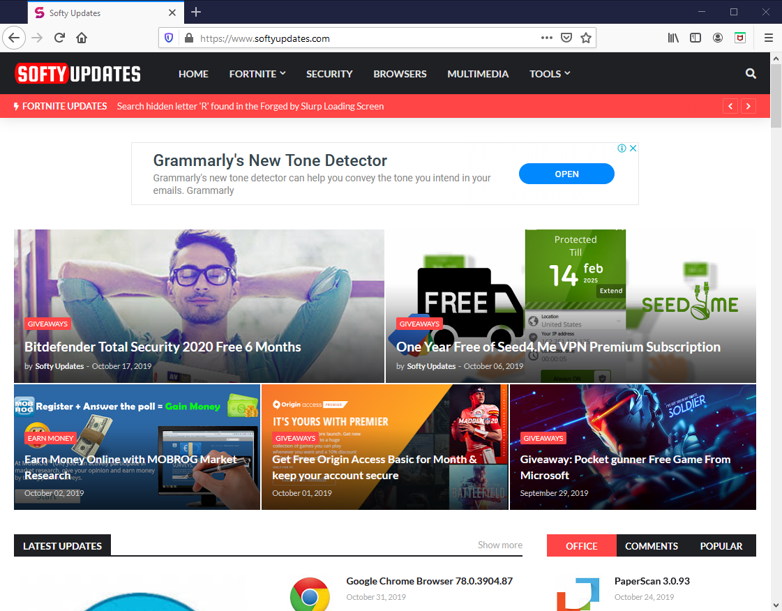 Mozilla Firefox Browser 72.0.2