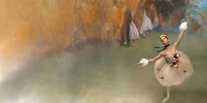Оживившие картины Эдгара Дега