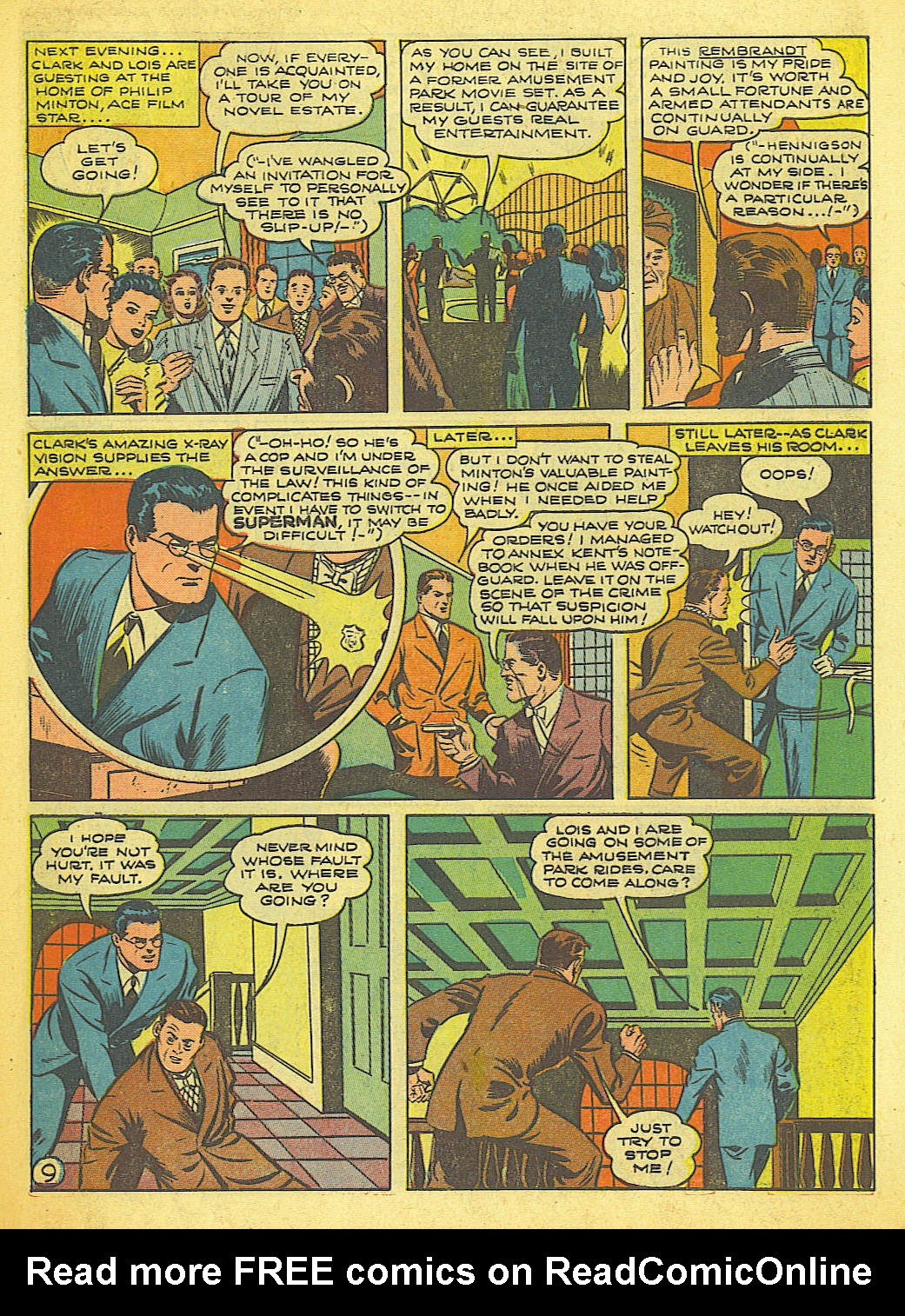 Read online Action Comics (1938) comic -  Issue #58 - 10