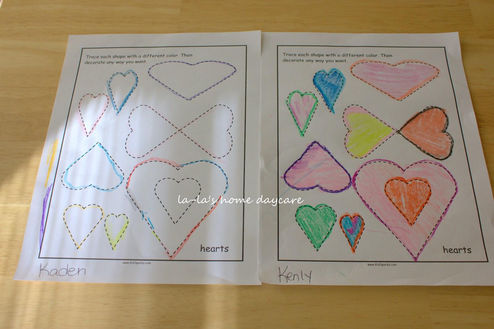 La La S Home Daycare Letter Hh Week