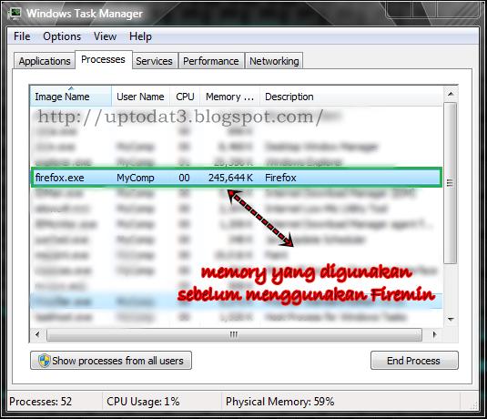 Cara Mengatasi Mozilla Firefox Makan Banyak Memory