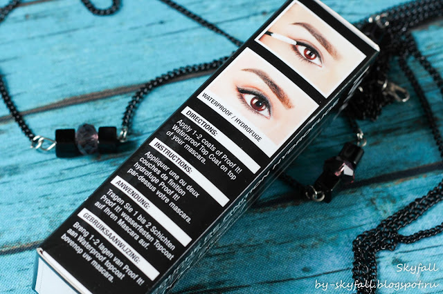 Фиксатор для туши NYX proof it! - Waterproof Mascara Top Coat отзывы