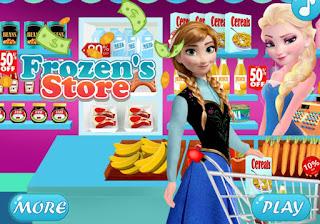 Jégvarázs boltos játék mobilra
