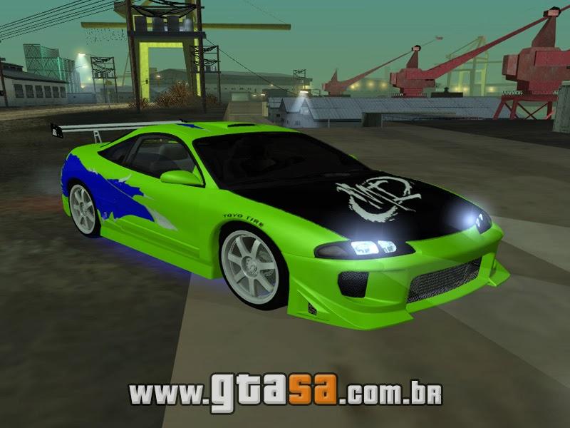 Dodge Charger Games >> Mitsubishi Eclipse GSX 1996 - Velozes & Furiosos - Mods ...