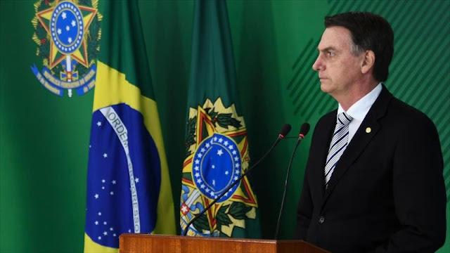 Bolsonaro intenta rebotar críticas sobre su promesa proisraelí