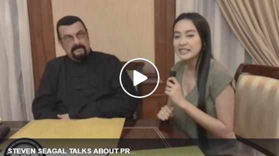 EXCLUSIVE INTERVIEW: Mocha Uson with Steven Seagal Talks About Duterte