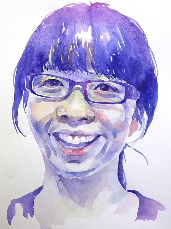 Улыбающиеся друзья Peihang Huang 9