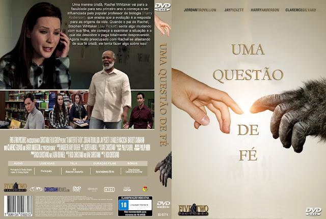 Capa DVD Uma Questão De Fé