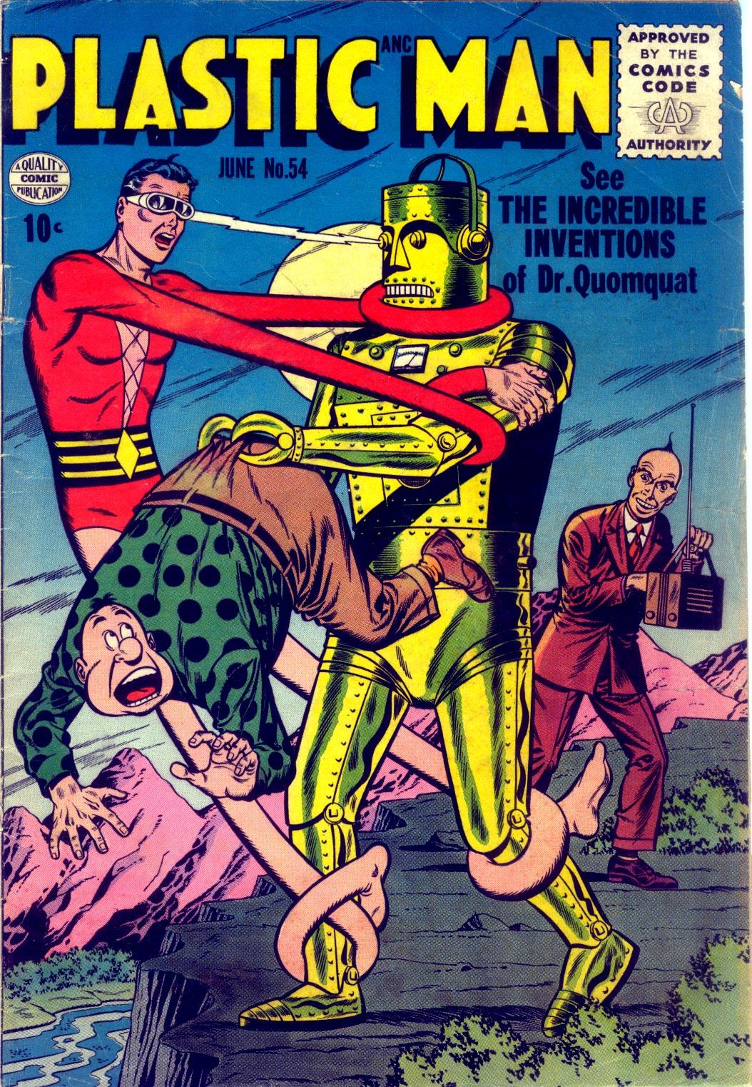 Plastic Man (1943) 54 Page 1