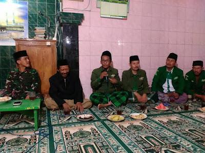 MWC NU dan PAC GP Ansor Selomerto Tarkhim di Dusun Larangan