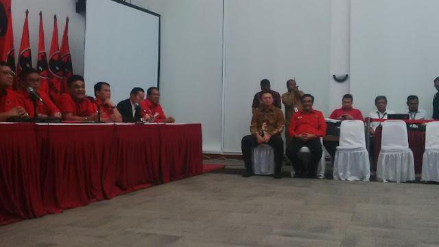 Akhirnya PDIP Resmi Usung Ahok-Djarot di Pilgub DKI Jakarta 2017