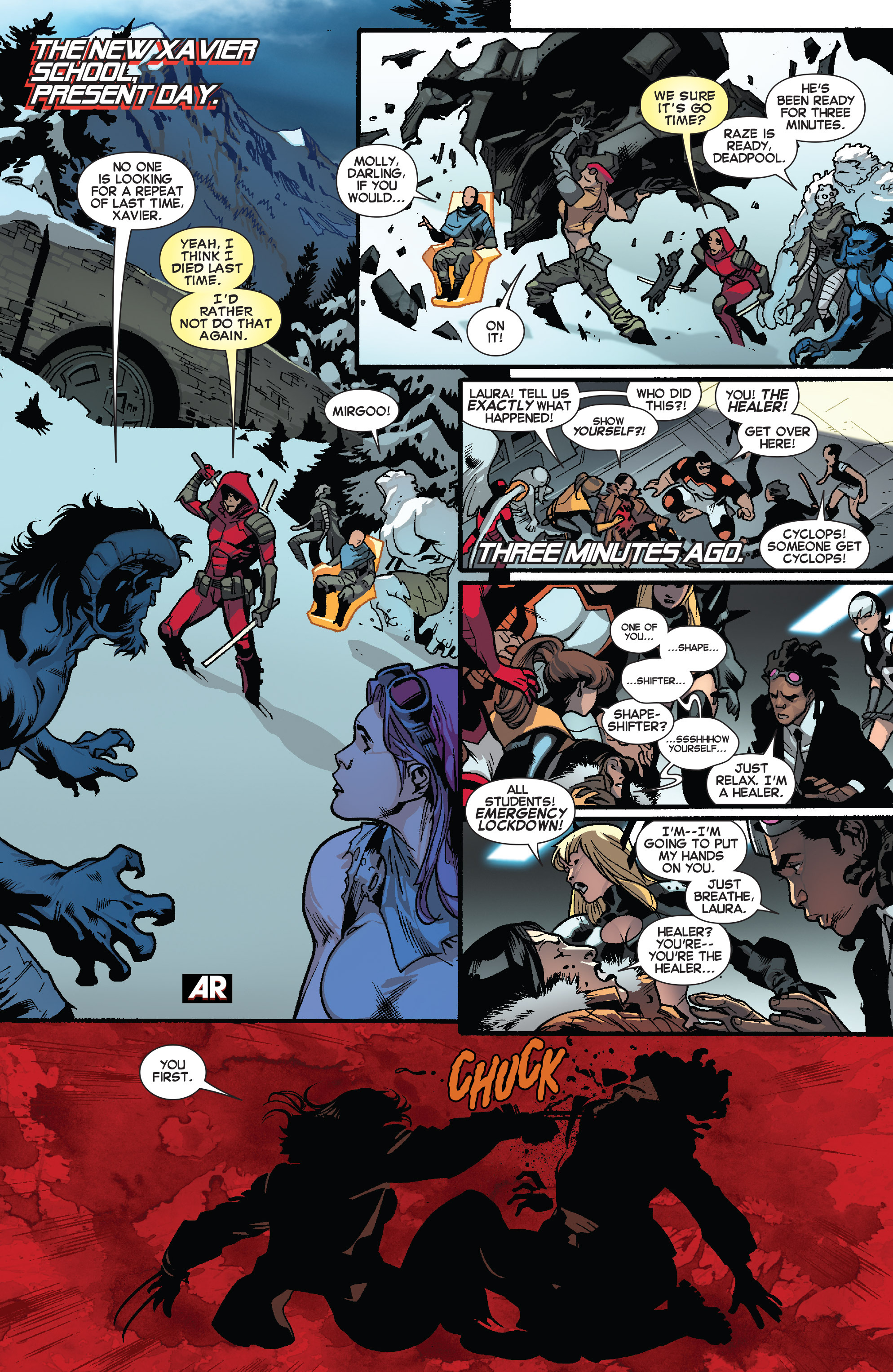Read online All-New X-Men (2013) comic -  Issue # _Special - One Down - 55