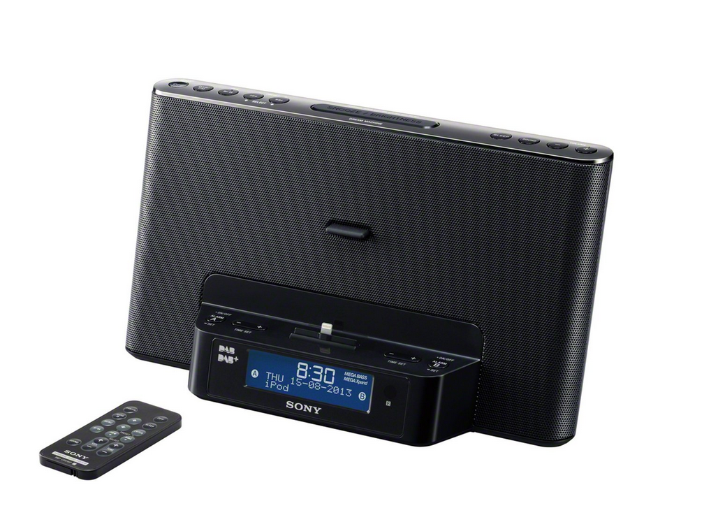 new product 64553 a8b3a Sony DAB Radio Speaker Charging Docking Station iPhone 6 Plus iPhone ...