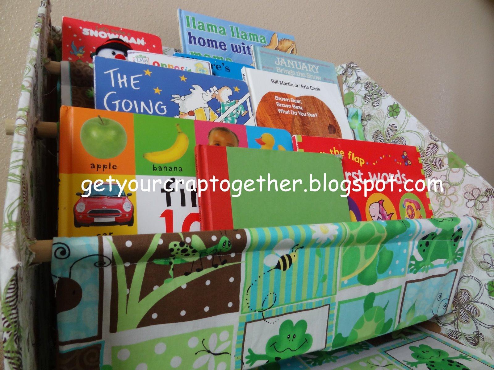 DIY Childrens Bookcase By GYCT