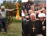 SEBARKAN!! Ketika Pendeta ini bakar Al-Quran di hadapan Ratusan Pengikutnya, Allah SWT tunjukkan KuasaNya di Saat itu Juga !!!