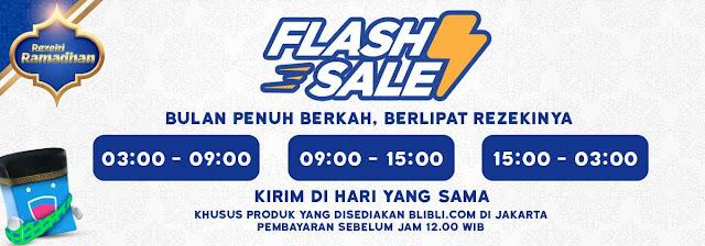 #BliBli - #Promo Diskon Hingga 67 % Flash Sale Rezeki Ramadhan