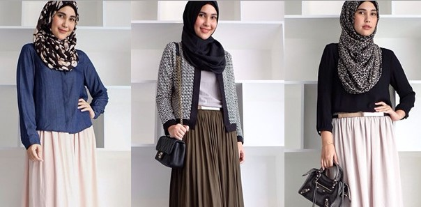 Mode hijab cukup umur ini memang telah mengalami perkembangan yang begitu pesat Prediksi Tren Hijab 2018 Casual Simple dan Minimalis