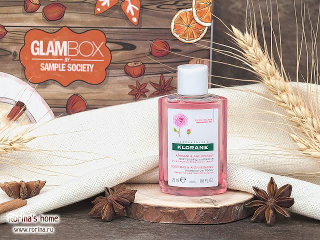 KLORANE Успокаивающий шампунь с экстрактом пиона: отзывы