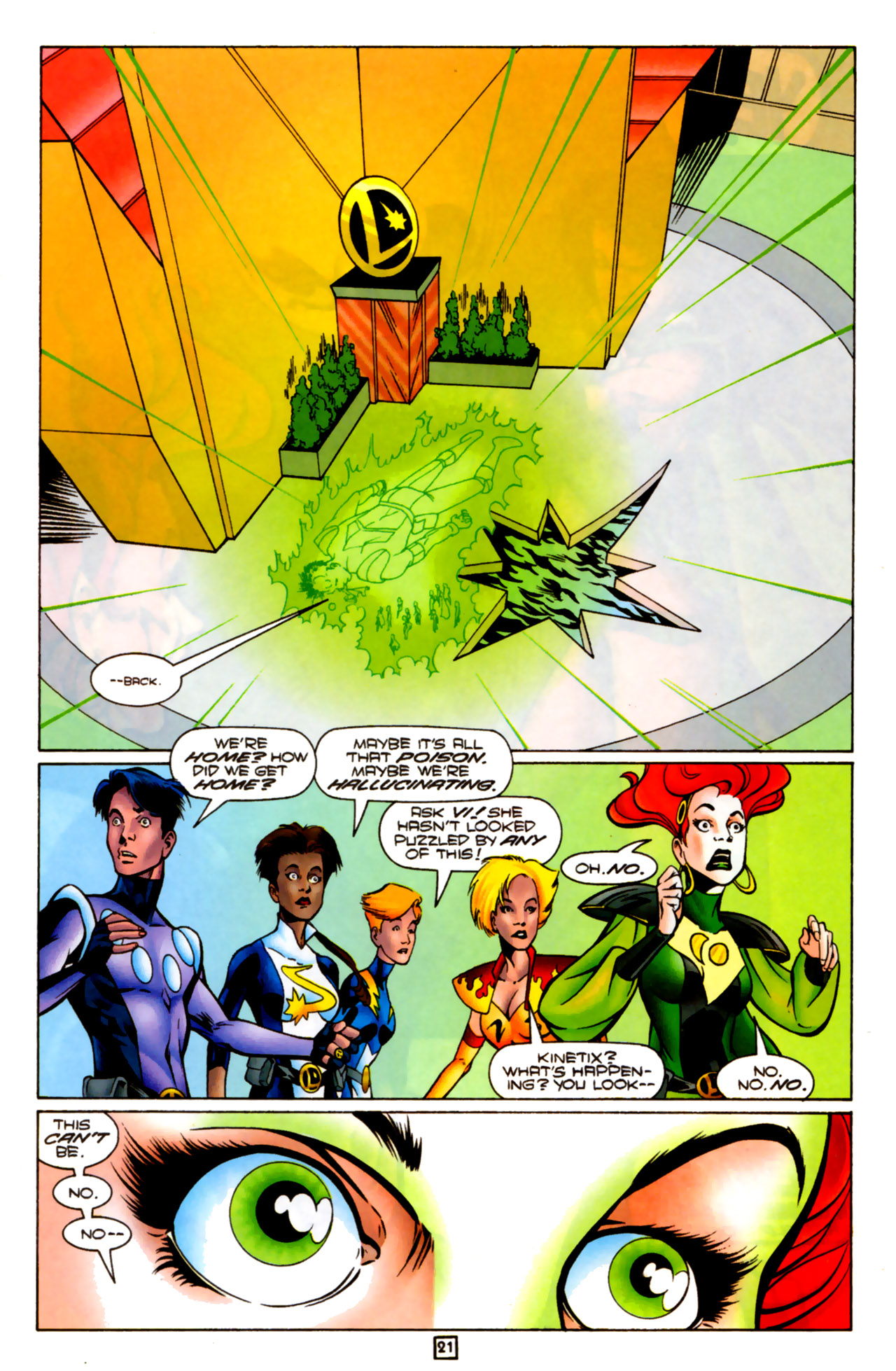 Legion of Super-Heroes (1989) 83 Page 20