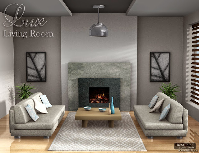 Download daz studio 3 for free daz 3d lux living room for Living room 2 for daz studio