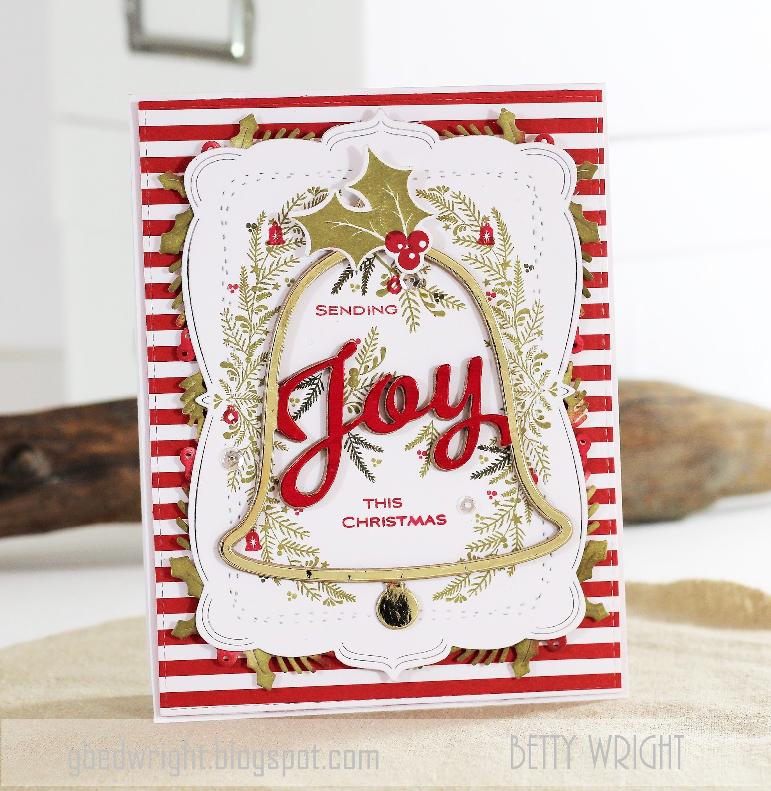 Sending Joy This Christmas! | The Things I Do With Paper