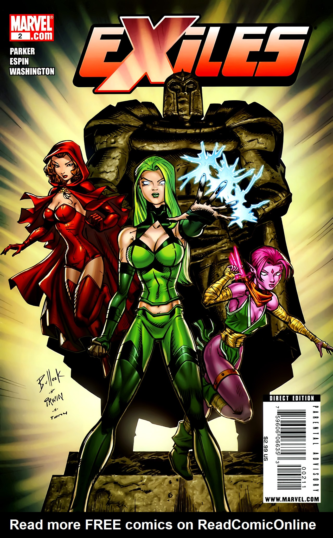 Read online Exiles (2009) comic -  Issue #2 - 1