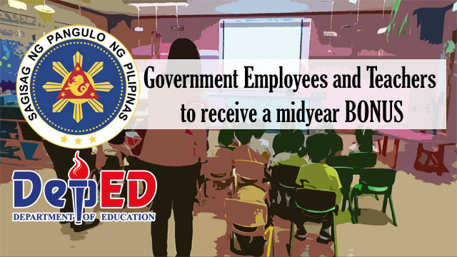Government Employees and Teachers to Receive a Midyear Bonus