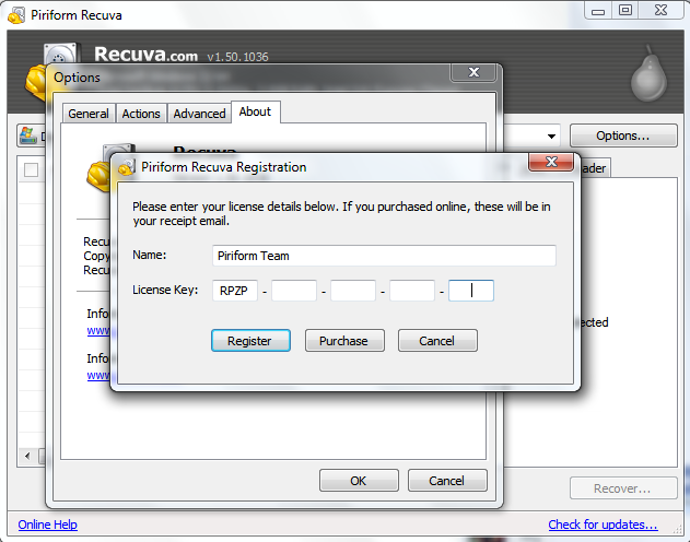 Get a free recuva pro version exclusively on Free TUTS